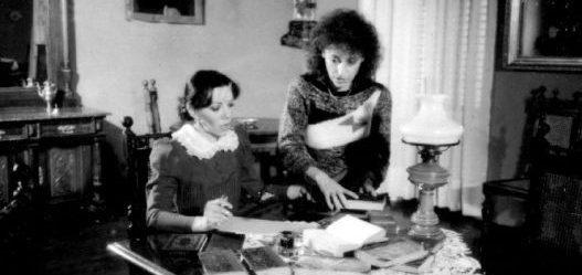 "Glumica Gordana Pavlov i reditelj Branka Bogdanov na snimanju serije ""Znamenite žene srpske prošlosti"", 1986. godine"